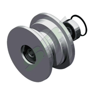 UPPER BALL WHEEL GUIDE ROLLER (SPLIT WITH BRACKET)