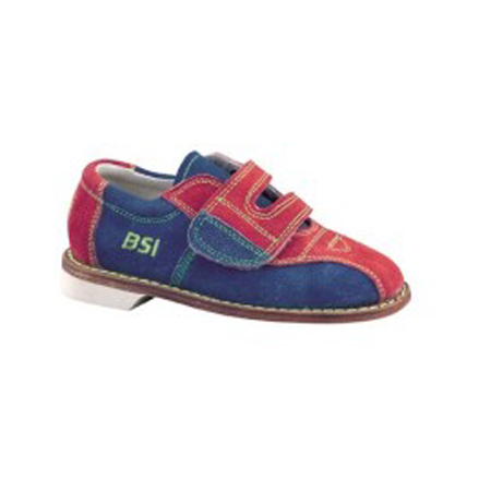 GIRLS RENTAL, SUEDE VELCRO, SIZE 4